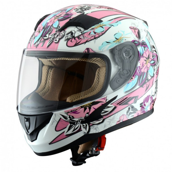 Astone Helmets GT600K Sunset kid full face helmet White Pink
