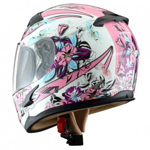 Astone Helmets GT600K Sunset kid full face helmet White Pink
