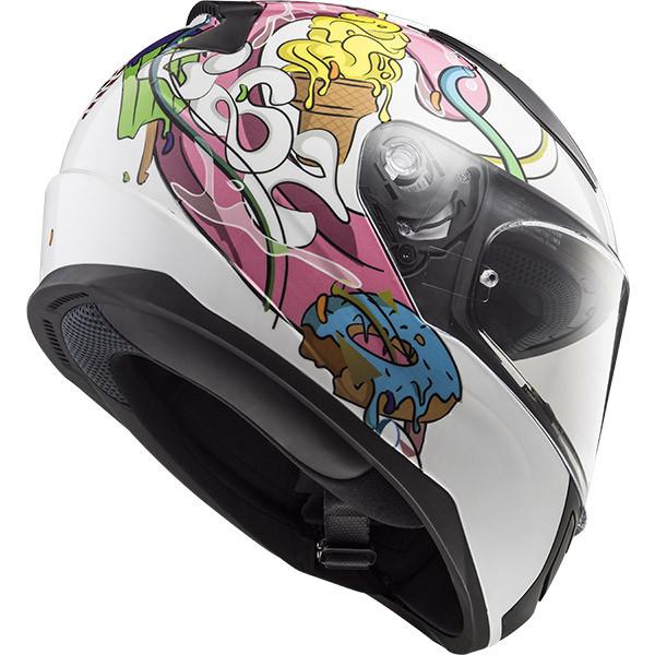 LS2 FF353J Rapid Mini Crazy Pop Youth Motorcycle Helmet