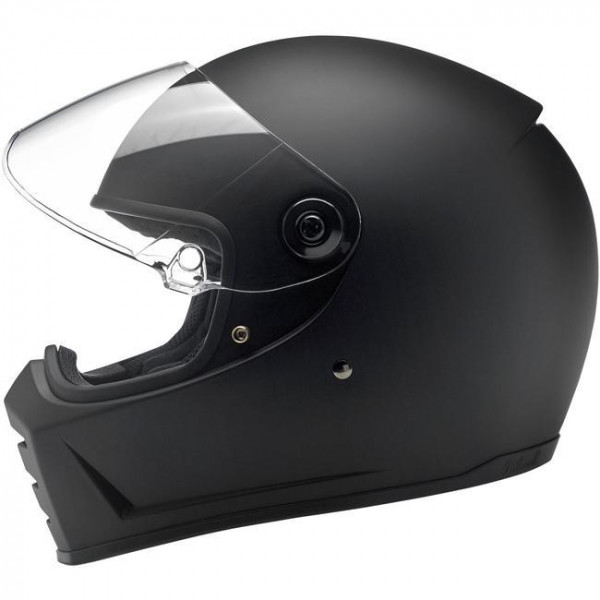Biltwell full face helmet Biltwell Lane Splitter Flat matt black