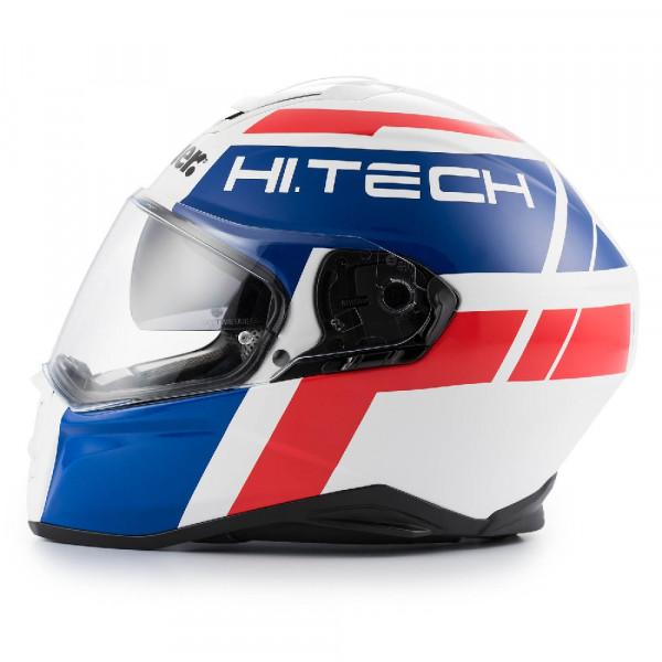 Blauer full face helmet Force One 800 fiber white blue red