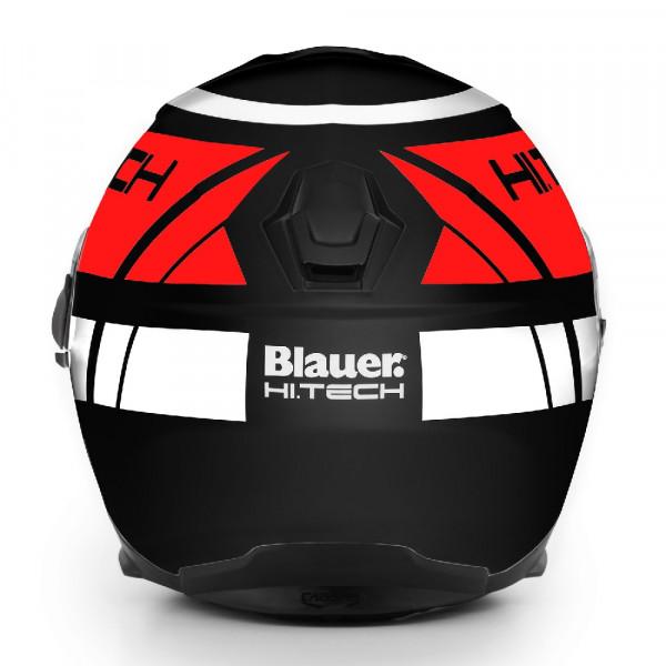Blauer full face helmet Force One 800 fiber black red white