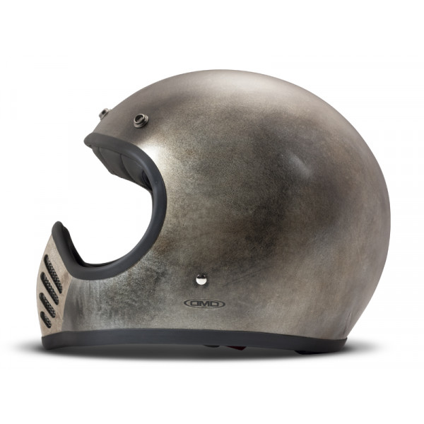 DMD Handmade Seventyfive Alu full face helmet carbon Grey