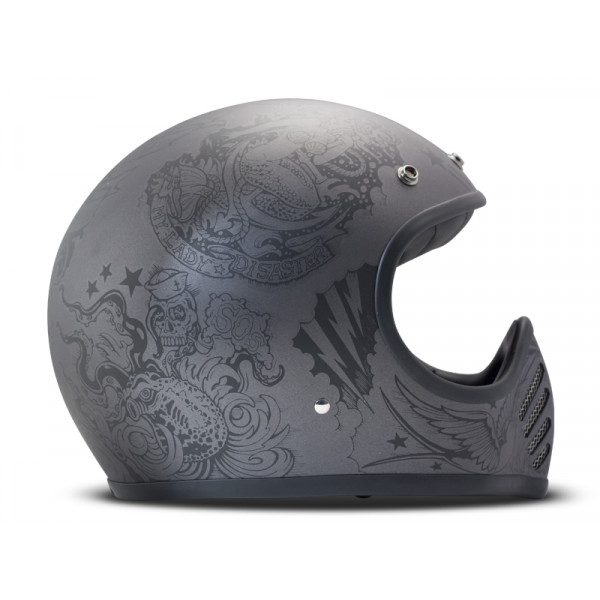 DMD SeventyFive Sailor full face helmet carbon Grey