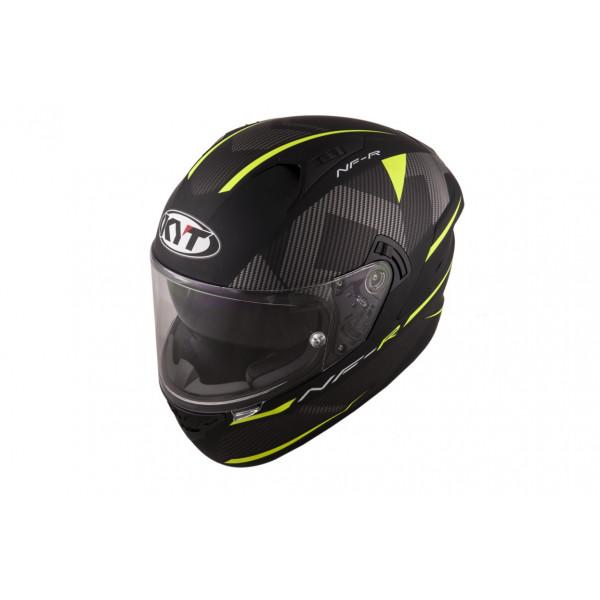 Kyt full face helmet NF-R Logos matt yellow