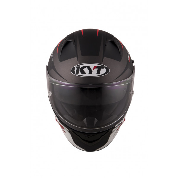 Kyt full face helmet NF-R Track matt grey