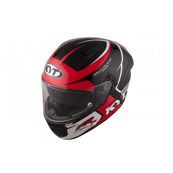 Kyt full face helmet NF-R Track red