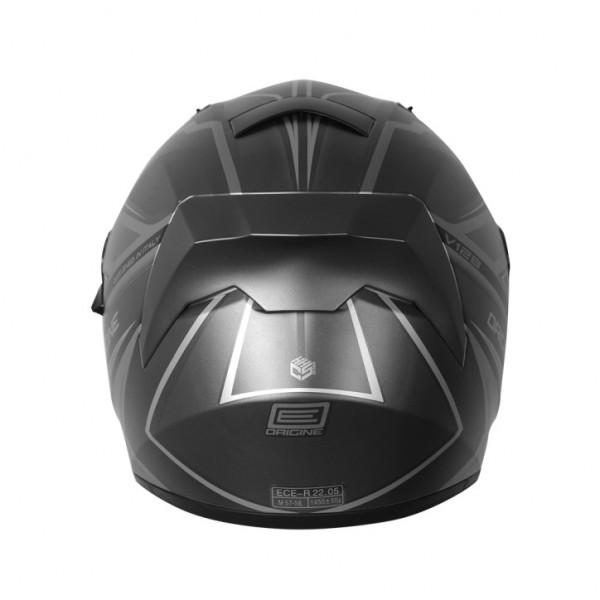 Origine V128 Strada Graviter full face helmet Titanium Black Matt