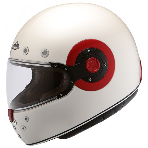 SMK Eldorado full face helmet White Red
