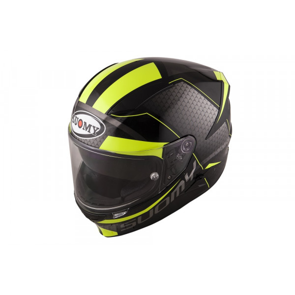 Suomy full face helmet Speedstar Rap fiber yellow