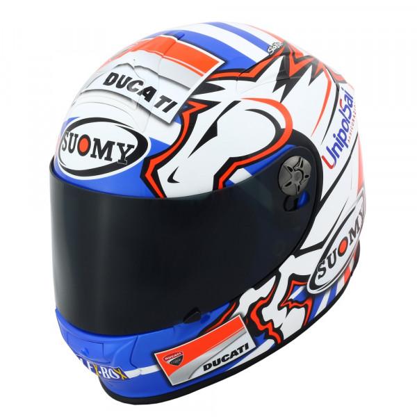 Suomy full face helmet SR Sport Dovizioso GP Replica Ducati fiber