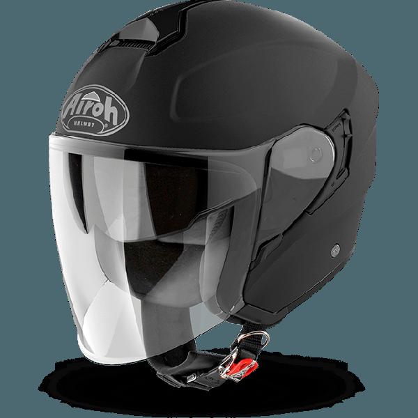 Airoh Hunter Pinlock Ready  Color  jet helmet black matt