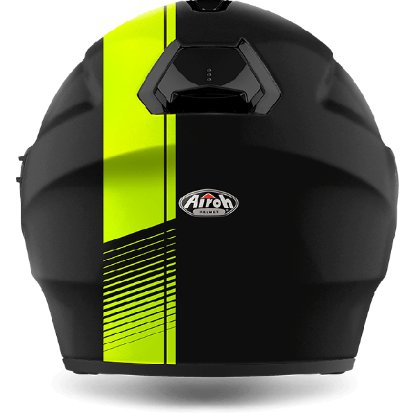 Airoh Hunter Pinlock Ready  Simple  jet helmet yellow matt