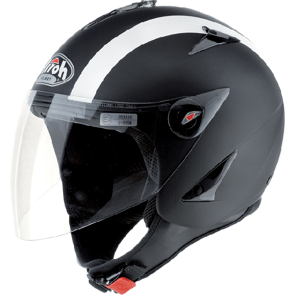 Airoh JT Bicolor jet helmet black matt