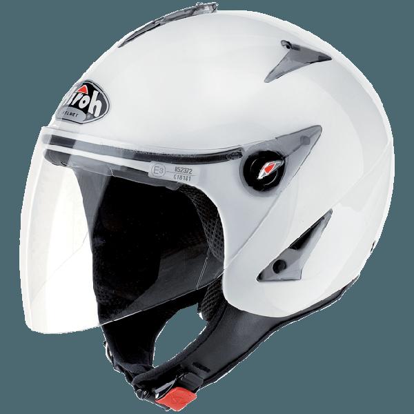 Airoh JT Color jet helmet whiet gloss