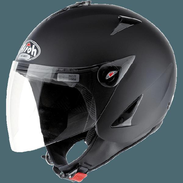 Airoh JT Color jet helmet black matt