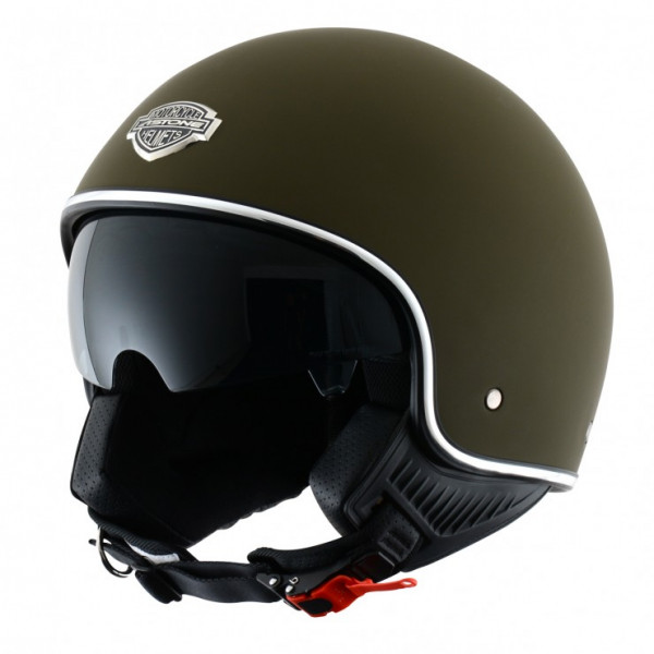 Astone Helmets 66 minijet helmet matt army
