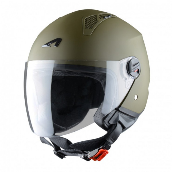 Astone Helmets mini jet helmet Matt Army