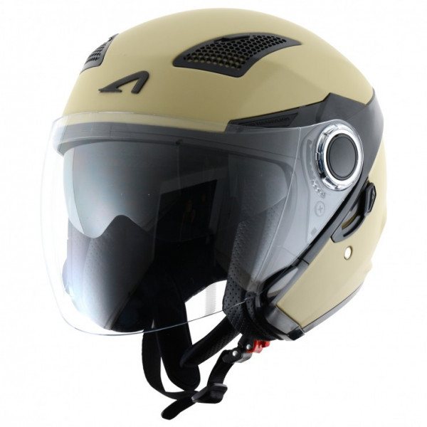 Astone Helmets FJ10 jet helmets Matt army
