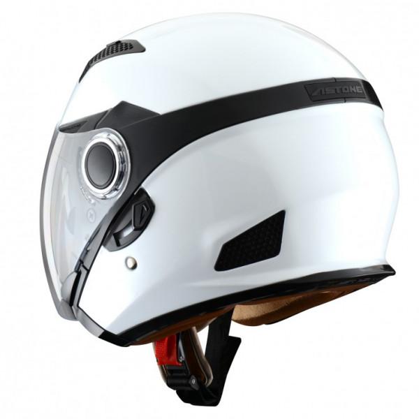 Astone Helmets FJ10 jet helmets Gloss White