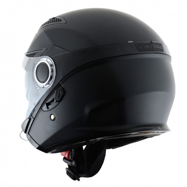 Astone Helmets FJ 10 jet helmets matt black