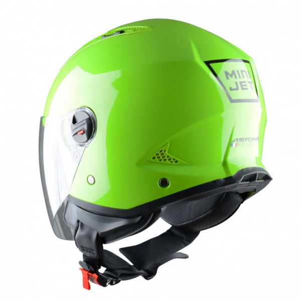 Astone Helmets minijet Apple jet helmet green