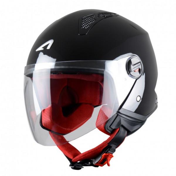 Astone Helmets Minijet helmet metalic black