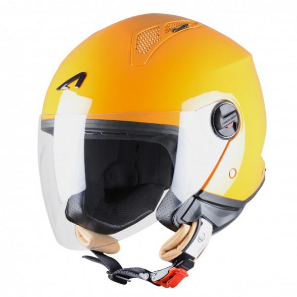 Astone Helmets Minijet Orange jet helmet