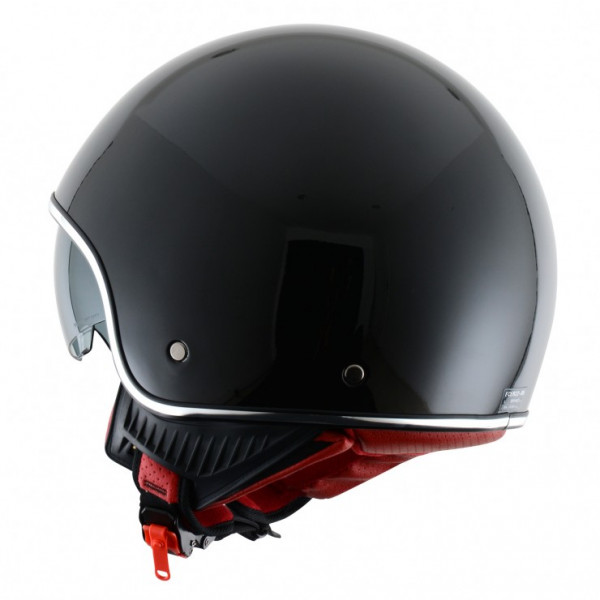 Astone Helmets Minijet Retro jet helmet black