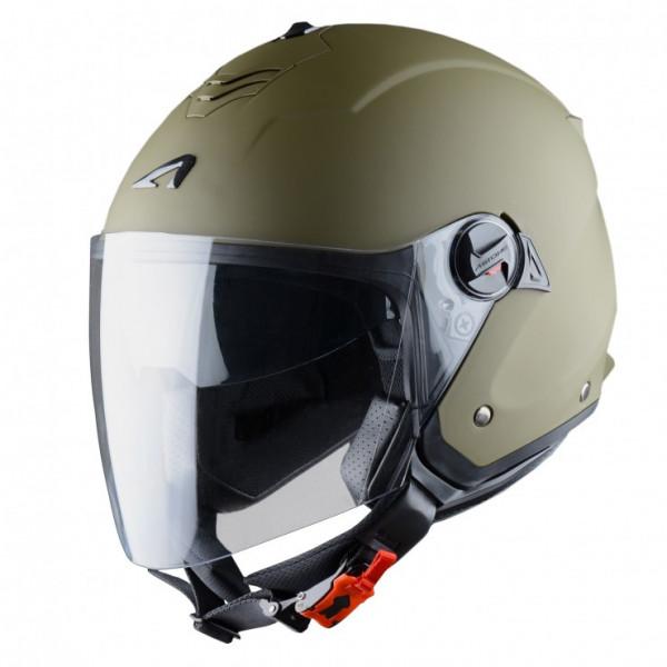 Astone Helmets Minijet S jet helmet matt Army
