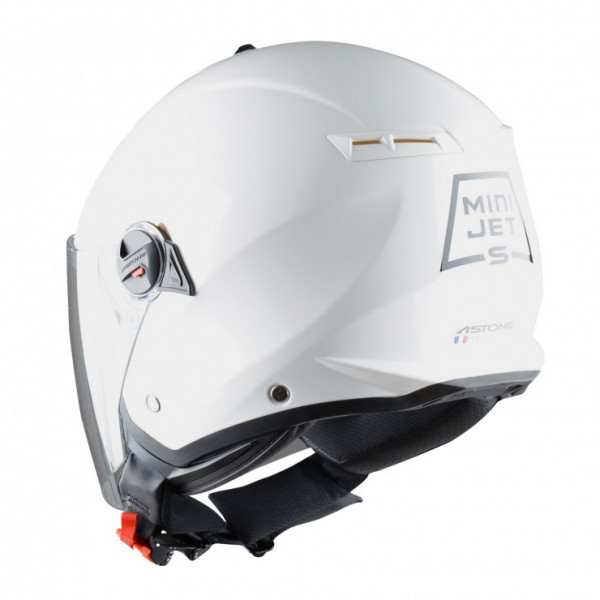 Astone Helmets Minijet S jet helmet gloss white