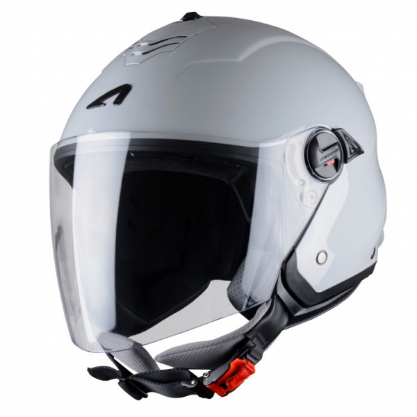 Astone Helmets Minijet S jet helmet light grey