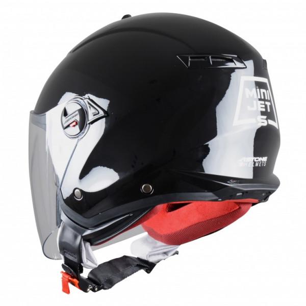 Astone Helmets Minijet S jet helmet gloss black