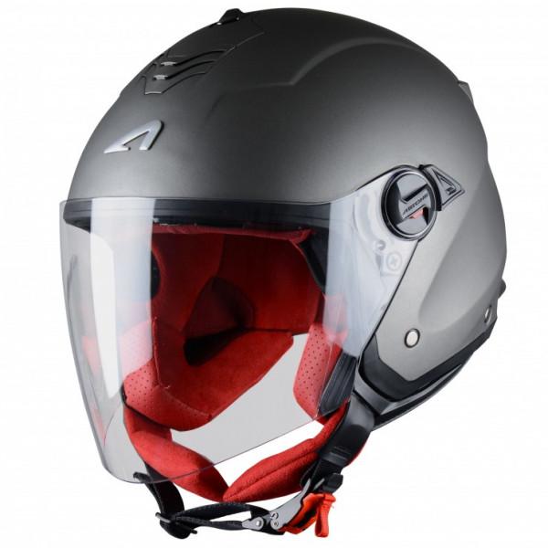 Astone Helmets Minijet S jet helmet matt gun metal