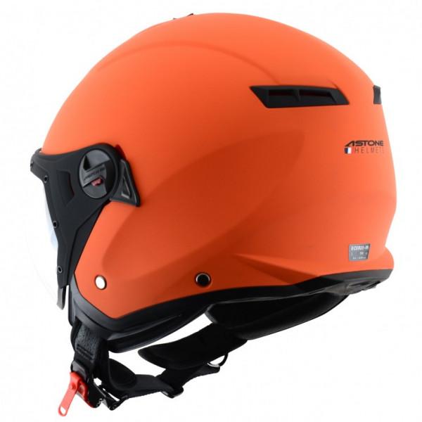 Astone Helmets Minijet Sport jet Helmet matt orange