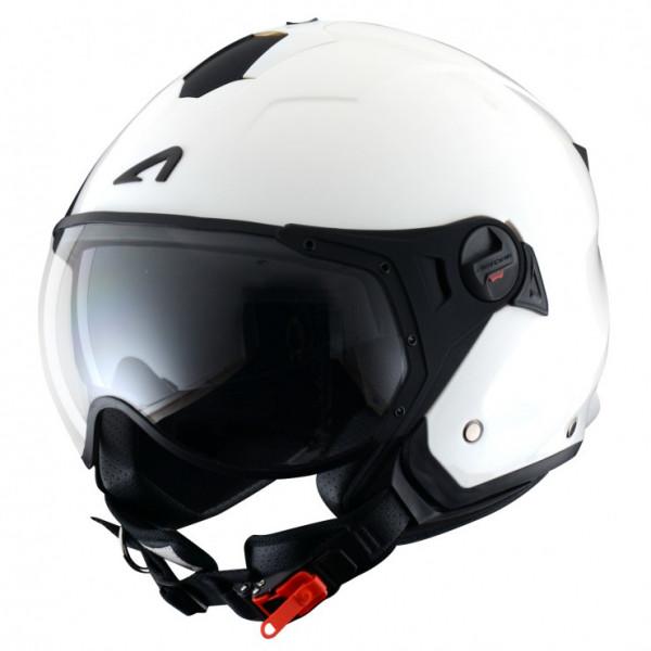 Astone Helmets Minijet Sport jet Helmet gloss white