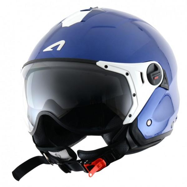 Astone Helmets Minijet Sport jet Helmet metalic blue