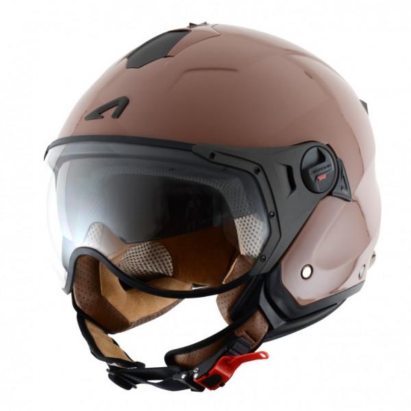 Astone Helmets Minijet Sport jet Helmet gloss coffe