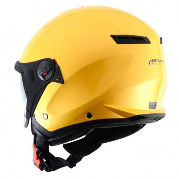 Astone Helmets Minijet Sport jet Helmet metalic yellow