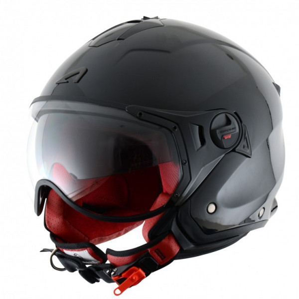 Astone Helmets Minijet Sport jet Helmet gloss black