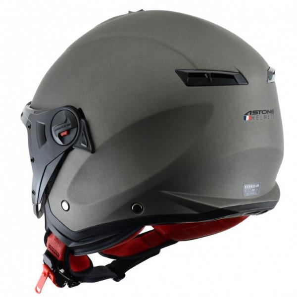 Astone Helmets Minijet Sport jet Helmet matt titanium