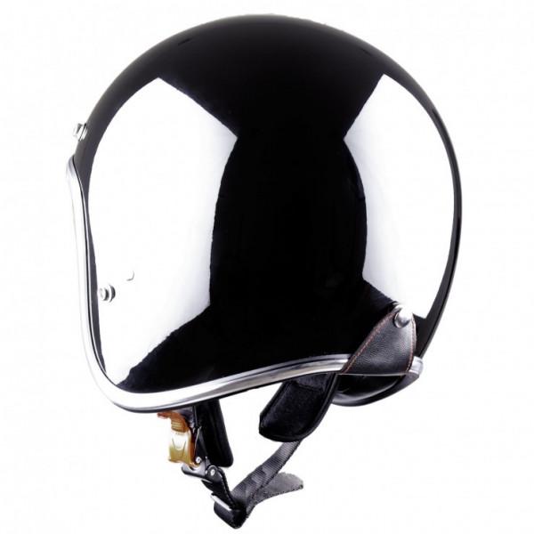 Astone Helmets Vintage jet Helmet gloss black