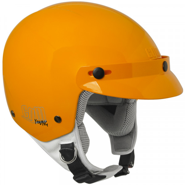 CGM 204A Cuba kid jet helmet Orange