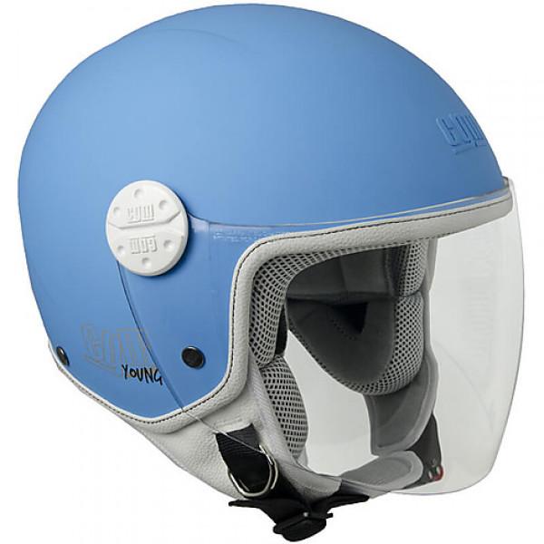 CGM Varadero kid jet helmet matt azul