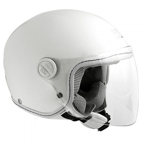 CGM Varadero Smile kid jet helmet White