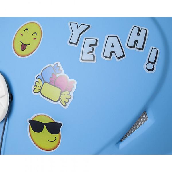 CGM Varadero Smile kid jet helmet Green