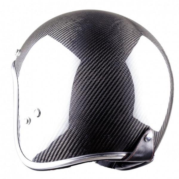 Astone Helmets Vintage Carbon jet Helmet black