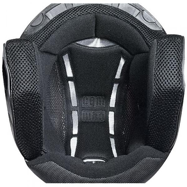 CGM 107S Cancun jet helmet long visor matt Black
