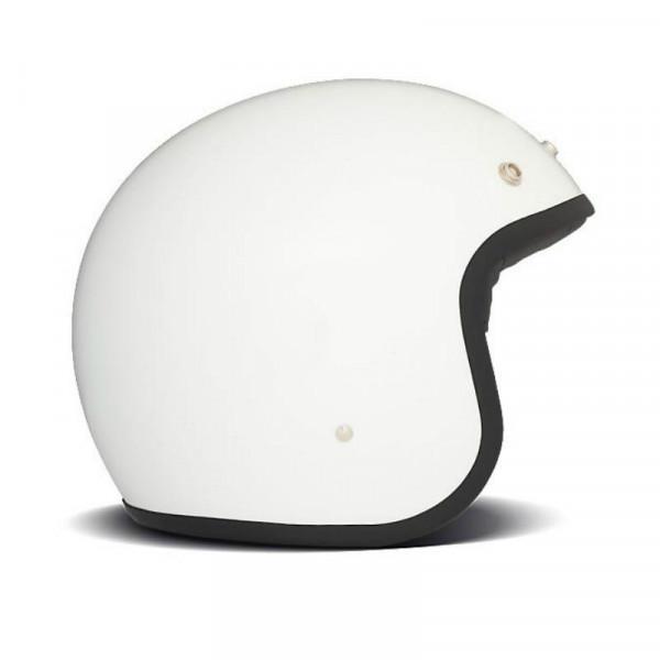 DMD Vintage fiber jet helmet White