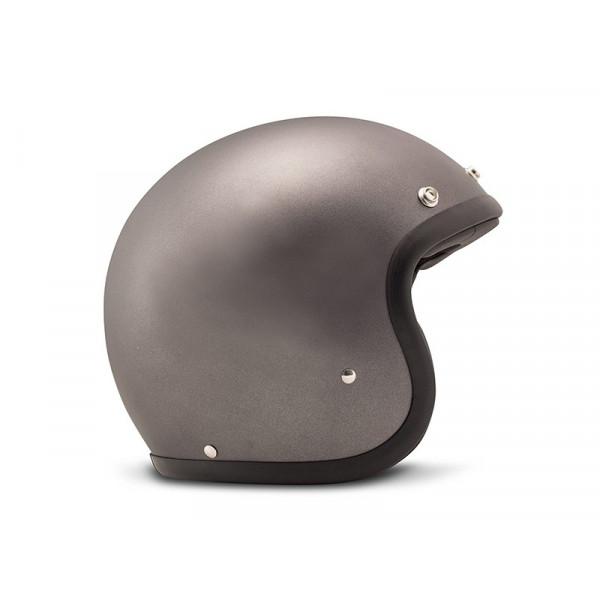DMD Vintage jet helmet fiber Matt Grey